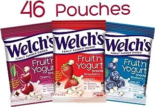 Welch's Fruit n Yogurt Snacks Combo Pack, .8 Ounces, 46...