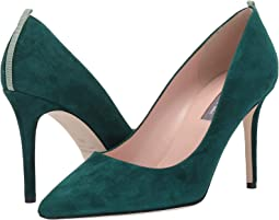Dark Green Suede