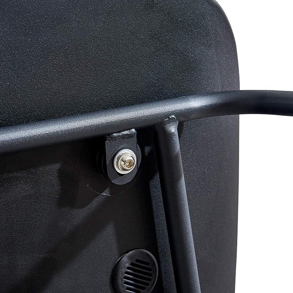 HXF- Chaise de salle à manger, chaise de bureau simple, dossier créatif, chaise de loisirs, chaise de salle à manger pour adulte durable (couleur : noir-A) Noir-a