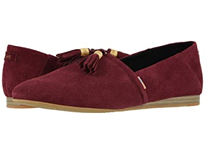 TOMS Kelli (Raisin Suede) Women