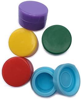Dab Containers Silicone (25 pcs) 5ml Non Stick Wax Container Silicone Jar