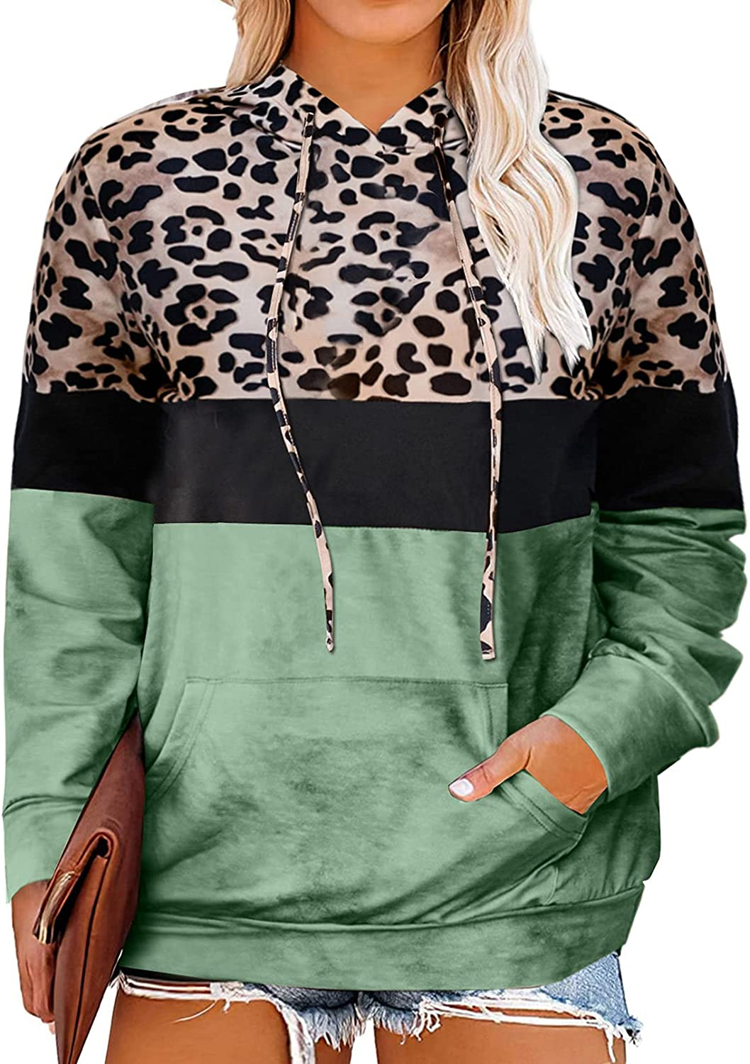 Happy Sailed Womens Plus Size Hoodies Tops Tie Dye Printed Long Sleeve Drawstring Pullover Sweatshirts with Pockets(1X-5X)