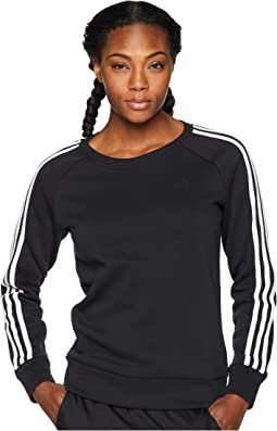 Cotton Fleece 3-Stripes Sweatshirt