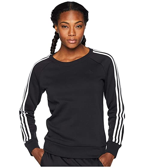 Cotton Fleece 3-Stripes Sweatshirt