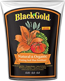 black gold garden