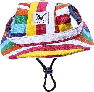 Gr/ö/ße S Rosa POPETPOP Haustier Hut Sonnenhut Sonnenschutz Hut mit Ohrl/öchern f/ür Outdoor Sport Haustier Hund Katze Kost/üme