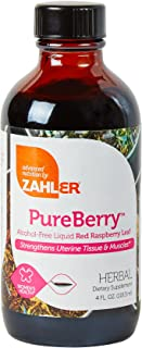 Zahler PureBerry, Liquid RED Raspberry Leaf Supplement which Strengthens Uterine Tissue and Muscles, All Natural Liquid Fo...