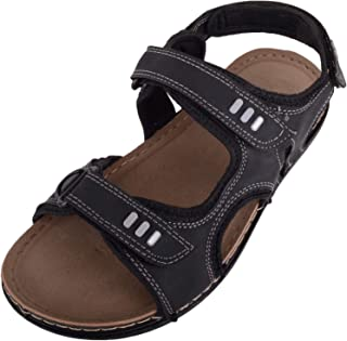 ABSOLUTE FOOTWEAR Mens Light Weight Summer/Holiday/Sports Sandals/Shoes with Ripper Fastening