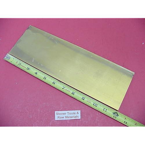 """1//4/"""" x 3/"""" x 12/""""-Long 360 Brass Flat Bar -/>.250/"""" x 3/"""" 360 Brass Flat Bar"""