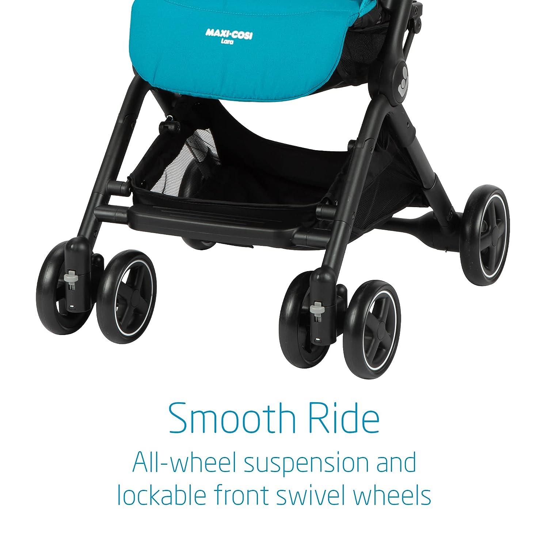 Maxi-Cosi Lara Lightweight Ultra Compact Stroller, Tetra Teal