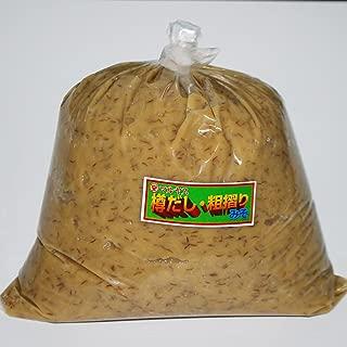 マルヤス味噌 麦味噌(白) 無添加 粗ずりタイプ 2kg