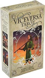 Vice Versa Tarot Cards,タロットカード、その逆のタロットカード、78枚のホログラフィックタロットカード、ファミリーテーブルゲームに必要なカード