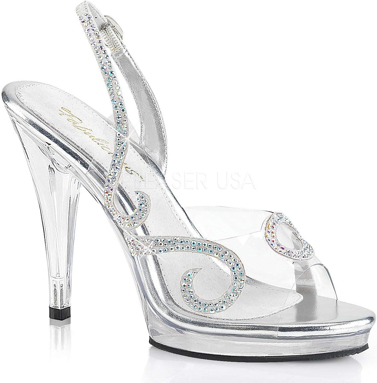 Fabulicious Womens FLAIR-457 C-GY C Sandal