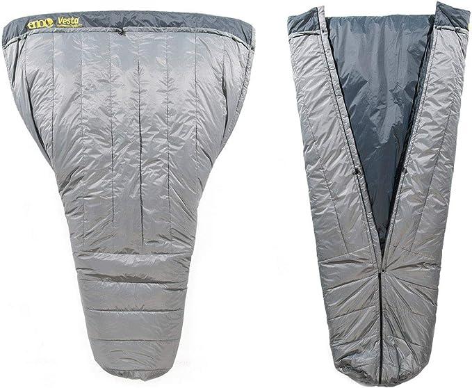 ENO Eagles Nest Outfitters Vesta TopQuilt Water-Repellent Hammock Blanket - Best Versatile Design