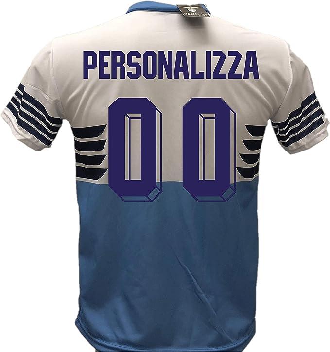 Maglia Calcio Lazio Personalizzabile Replica Autorizzata 2018-2019 Bambino (Taglie 6 8 10 12) Adulto (SML XL)
