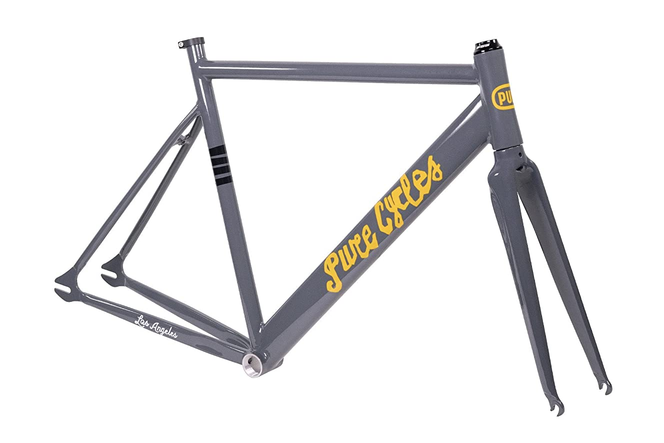 Pure Cycles Keirin Track Double-Butted 6061 Aluminum Bike Frameset