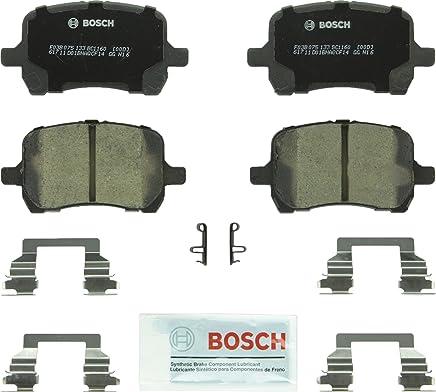 Bosch BC1160 QuietCast Premium Ceramic Disc Brake Pad Set For: Chevrolet Cobalt, HHR, Malibu; Pontiac G5, G6; Saturn Aura, Front