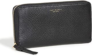 Tory Burch Womens Continental Wallet, Black - 61073