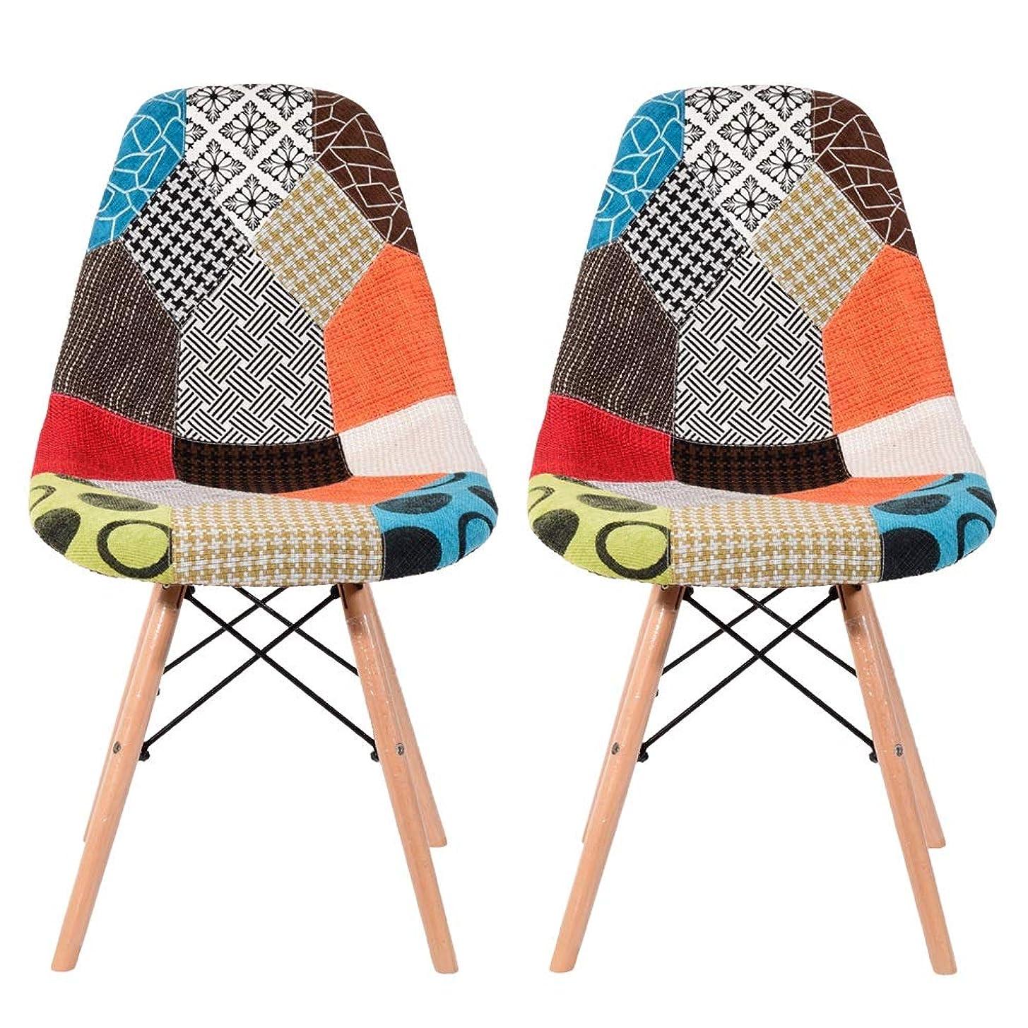 イームズチェア ダイニングチェア デザイナーズ リプロダクト 椅子 食卓椅 2個セット