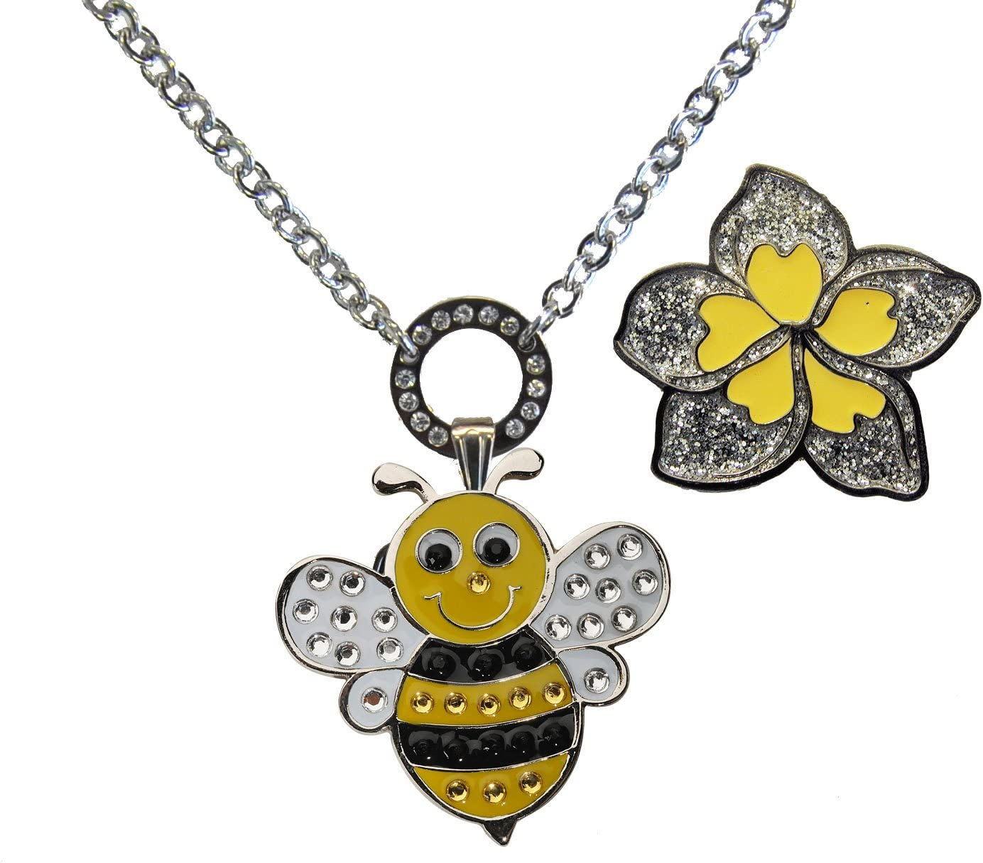 Navika Magnetic Ball Marker Necklace Queen NEW with New product!! Adorned Bee