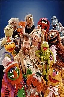 Muppets Autograph Replica Super Print - Jim Henson - Portrait - Unframed