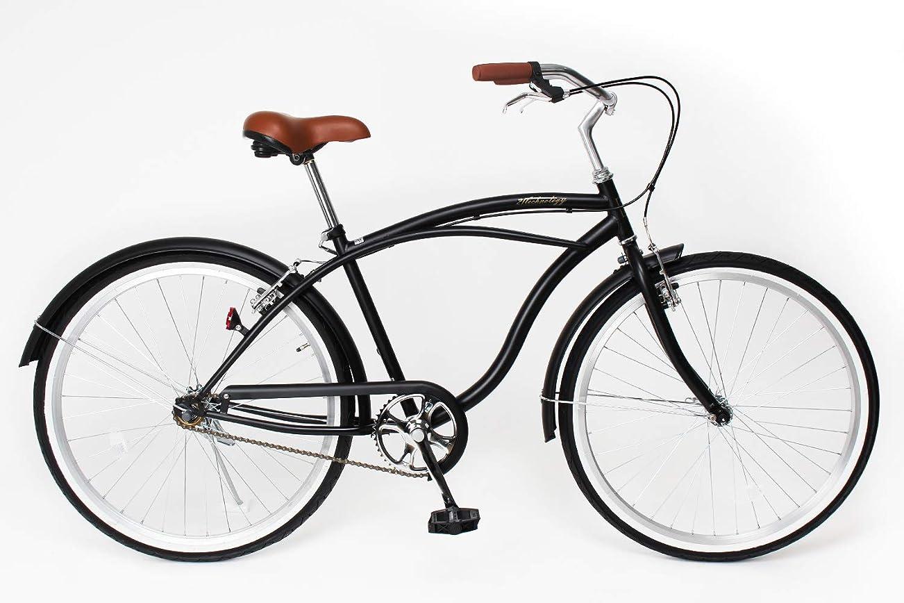 脚本付ける敏感な21Technology 26インチ ビーチクルーザー 自転車