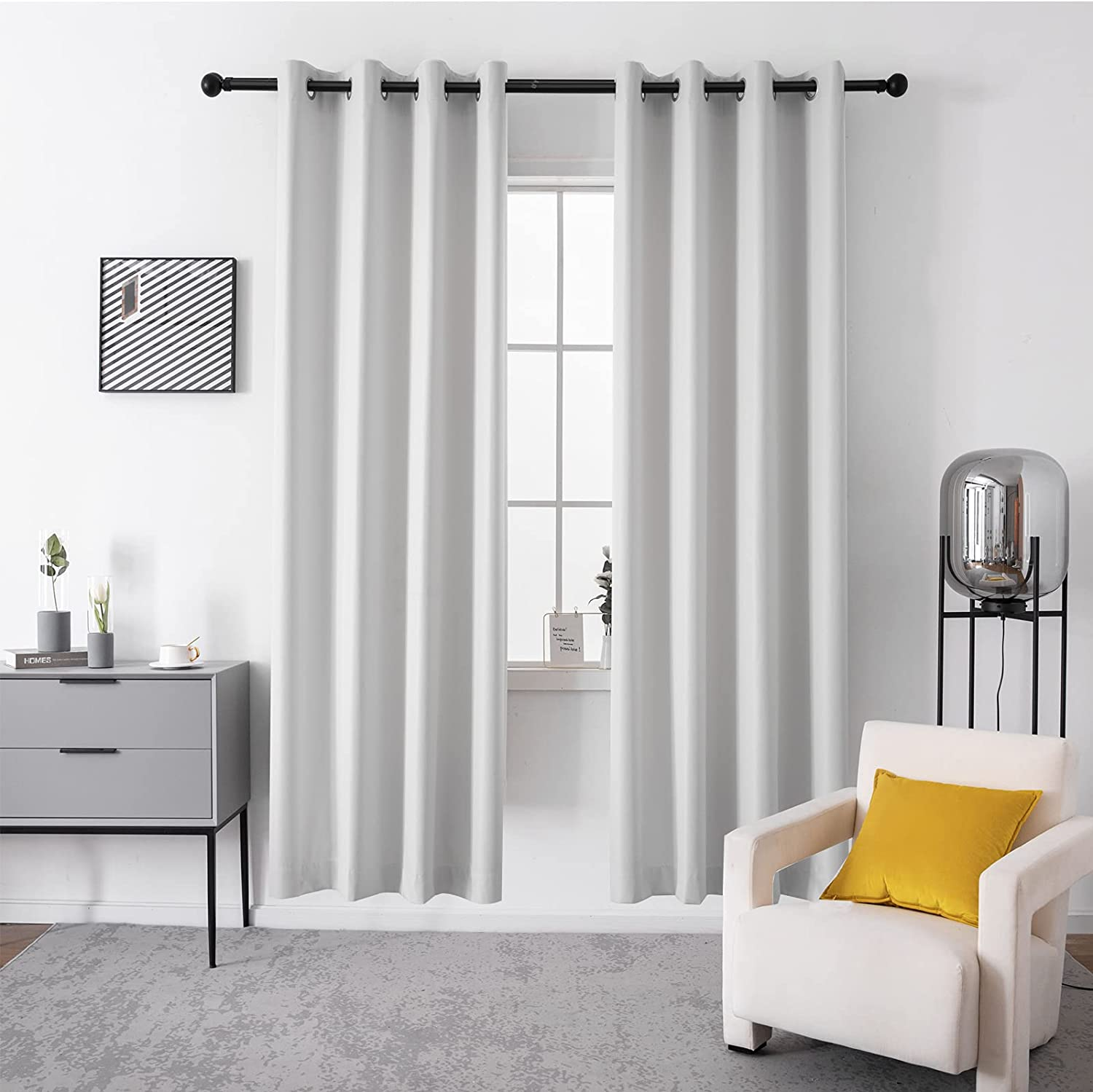 PERLAW Blackout Curtains for Insulated Portland Mall Thermal Japan's largest assortment Living Room