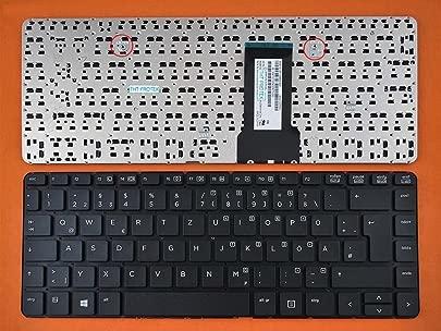 kompatibel f r HP ProBook 430 G2 Tastatur Farbe  schwarz Ohne Rahmen Deutsches Tastaturlayout