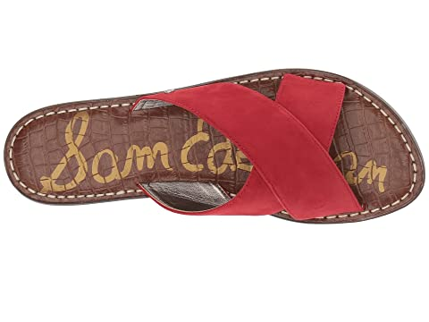 Gertrude Edelman Suede Red Sam Leather Kid f0RxRT