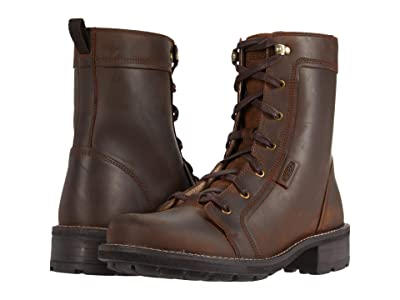 KEEN Oregon City Boot (Snuff/Toasted Coconut) Women