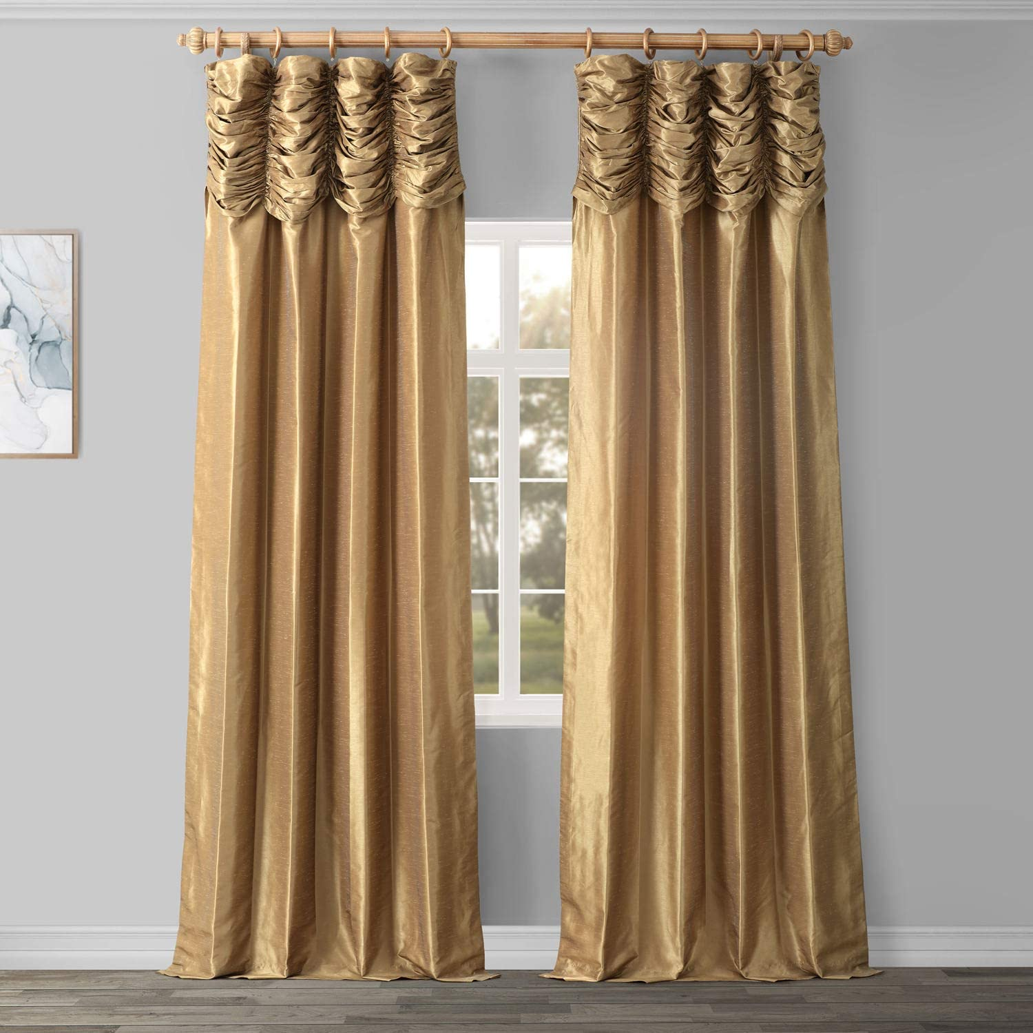 Ranking TOP11 HPD Half Japan Maker New Price Drapes PDCH-KBS8-108-RU Ruched F Textured Vintage