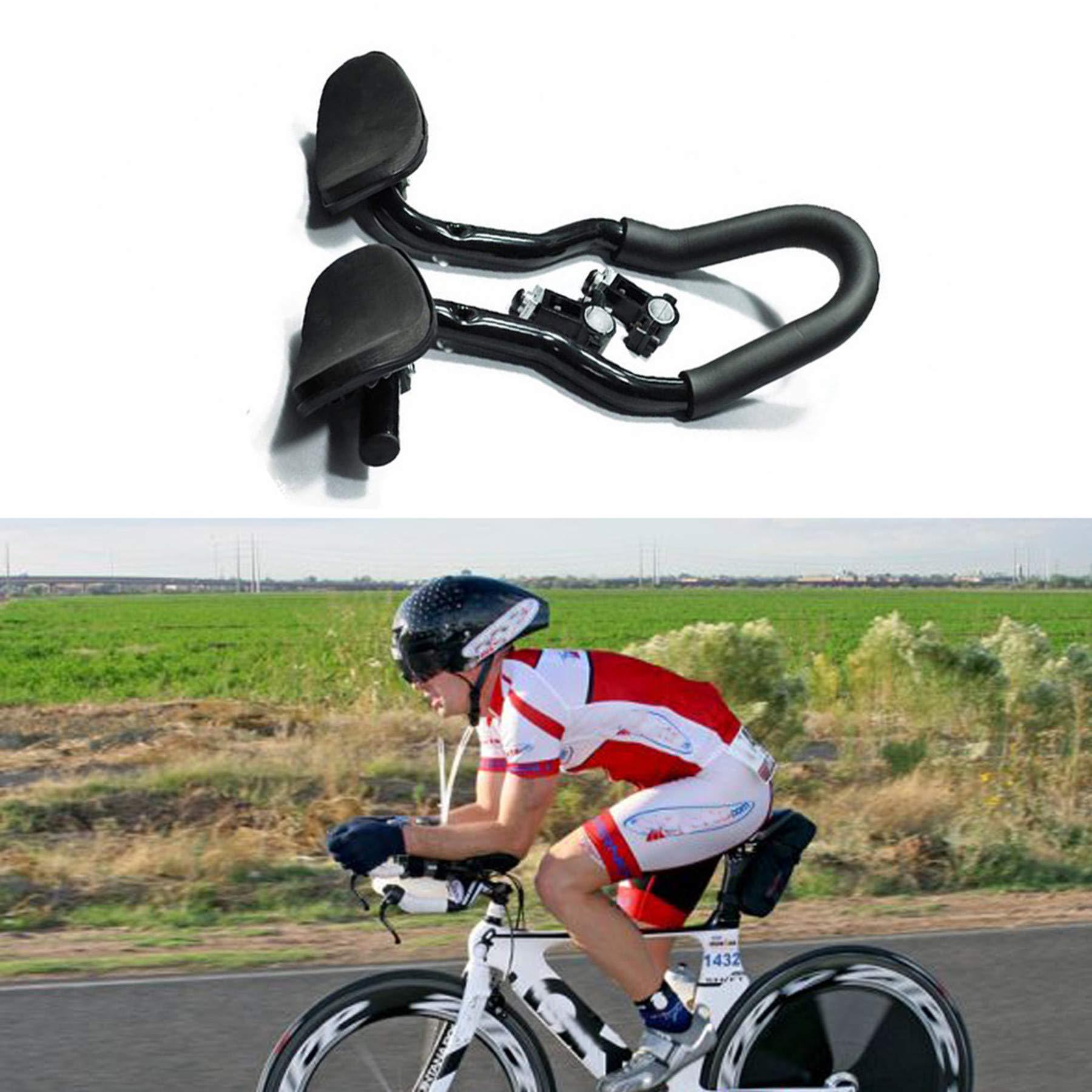 Single-Speed Bicycle Bike Brake Levers for Bull Horn Handlebar Aluminum Black Triathlon