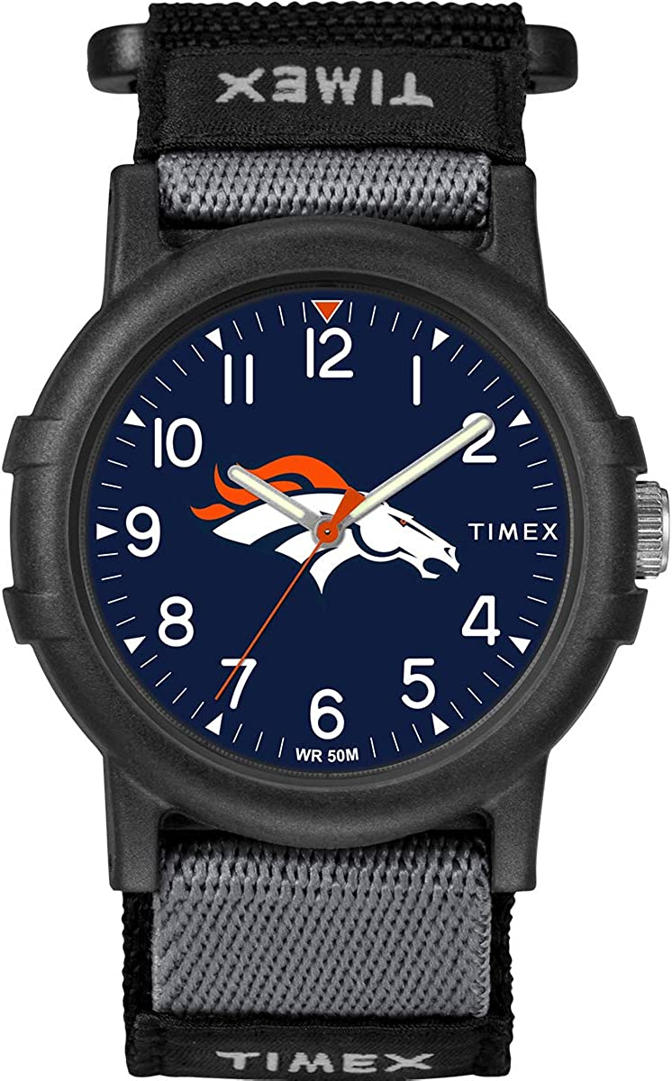Bombing Animer and price revision new work Timex Youth TWZFBROYA NFL Broncos Denver Recruit Watch