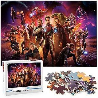 Hulk Iron Man Thanos Thor Puzzle classique 1000 pièces Avengers Jigsaw puzzle jouets pour adultes décompresser l'outil mei...