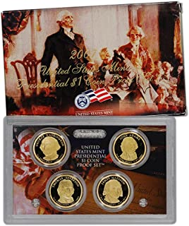 2007 s proof presidential dollars