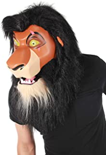 elope Lion King Scar Mouth Mover Mask Orange