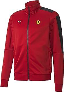 PUMA Formula 1 mens Scuderia Ferrari Race T7 Track Jacket