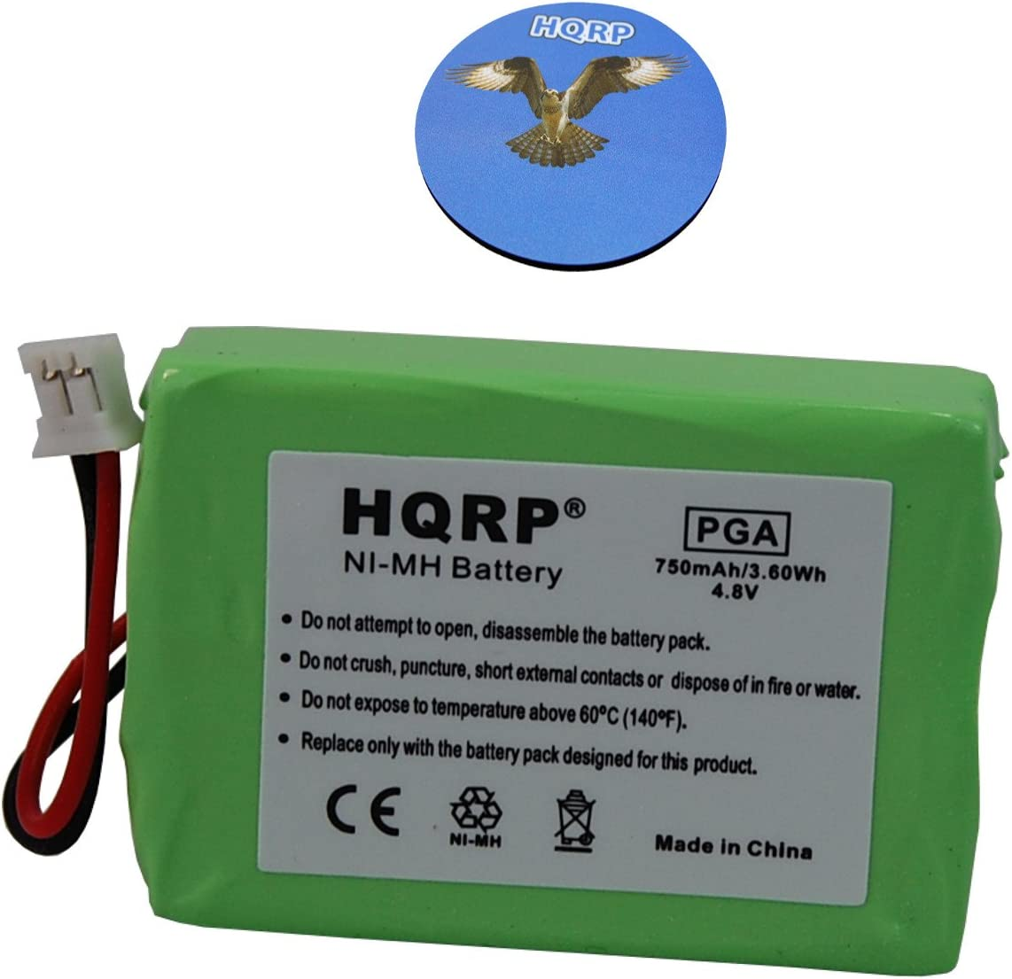New color HQRP Battery Compatible Surprise price with Sportdog 2400 ProHunter Model SD-24