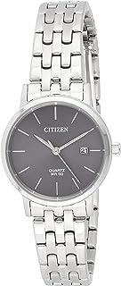 Citizen Women Black Dial Stainless Steel Band Watch - EU6090-54H