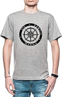 Rundi Sic Parvis Magna Hombre Camiseta Gris Todos Los Tamaños - Men's T-Shirt Grey