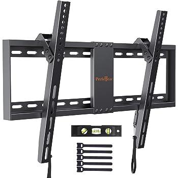 SIMBR Soporte TV Pared Inclinable ±15° VESA Máx. 600x400mm Soporte Mural para LED/LCD/Plasma/Curvada Televisores de 26