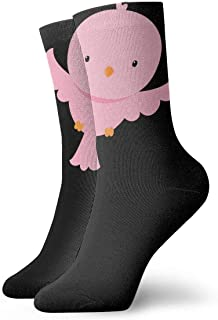 Luxury Calcetines de Deporte Happy Bird Women & Men Socks Soccer Sock Sport Tube Stockings Length 11.8Inch