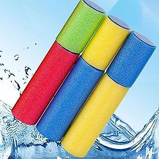 Beauenty Water Gun for Kids, Foam Water Blaster Squirt Guns, 3-Pack Kids Outdoor Water Pool Toys ,Multicolor (c1)