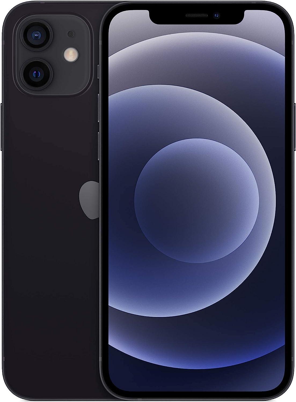 Apple iPhone 12, 64GB, Black - T-Mobile (Renewed)
