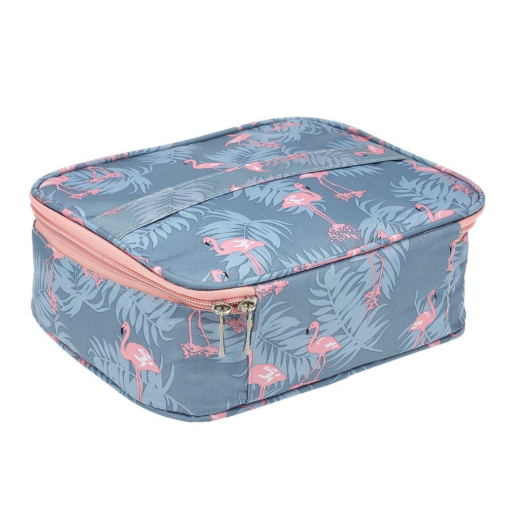 ポータブル防水トラベル化粧品バッグ収納袋大容量多機能レディース収納ボックス