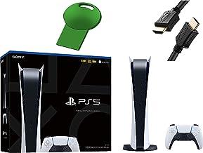 PS5 Sony Playstation 5 Digital Edition Gaming Console + 1 Wireless Controller - 16GB GDDR6 Memory, 825GB SSD Storage, WiFi...