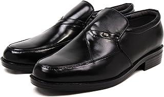 [セレブル] (エルフ) elf ORIGINAL SHOES 本革 撥水 抗菌 防臭 軽量 4e らくらくコンフォート ビジネスシューズ メンズ 黒 紳士靴