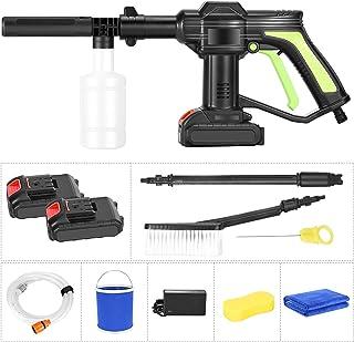 PaNt Hidrolimpiadora de alta presión pistola de limpieza de batería de litio de 21 V 3,5 L/min,pistola de agua portátil de...