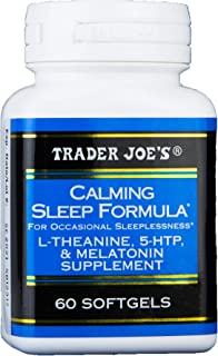 Trader Joe's Calming Sleep Formula