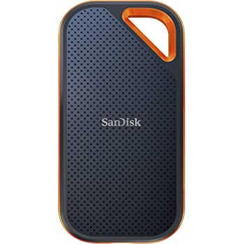 SanDisk 1TB Extreme PRO Portable SSD - Up to 2000MB/s - USB-C, USB 3.2 Gen 2x2 - External Solid State Drive - SDSSDE81-1T00-G25